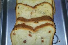 面包机版提子面包