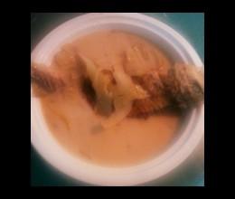 酸菜黄鱼汤