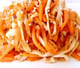 凉拌海鲜菇
