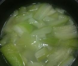 瑶柱节瓜汤