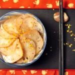 月子菜——桂花蜜汁藕