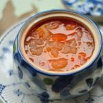 月子菜——椰壳木瓜炖雪蛤