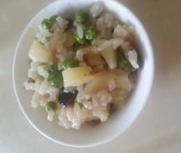 立夏一定要吃的糯米饭-电饭煲版