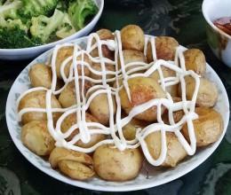 椒盐烤小土豆