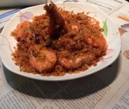 避风塘炒虾