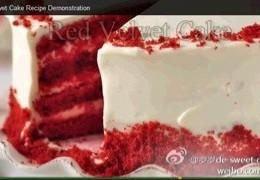 【红丝绒蛋糕】