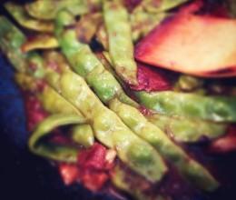 东北老菜【炖油豆角】