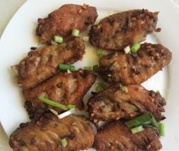麻辣煎鸡翅