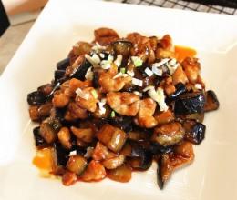 韩式辣酱菜--韩味鸡丁烧茄子