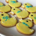 可爱小黄鸭糖霜饼干