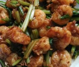 蒜香欧芹虾