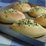 低脂蒜香咸面包