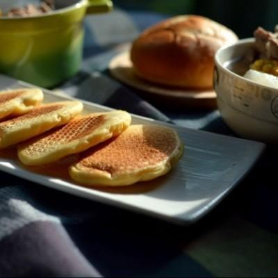 奶香玉米饼(酵母版)
