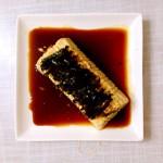 日式肉松海苔拌豆腐