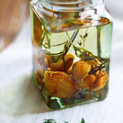 橄榄油浸蒜