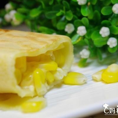奶香玉米卷°DIY创意小甜点๑