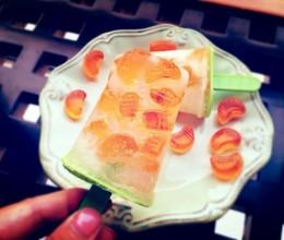 橘子汽水冰棒(完胜雀巢橘子味冰棒)