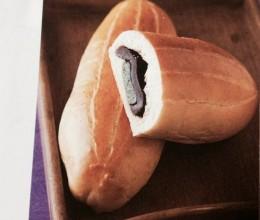 麻薯红豆沙面包