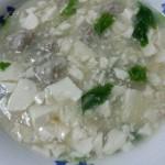 虾肉蟹味菇豆腐羹