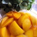 自制黄桃罐头-简单版