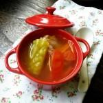 番茄苦瓜排骨汤