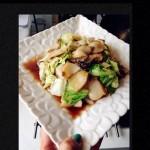 鲍鱼蚝汁圆白菜