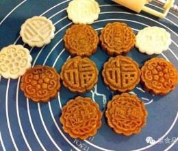 食生月饼:燕麦杂粮枣泥果仁月饼