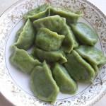 翡翠韭黄牛肉水饺