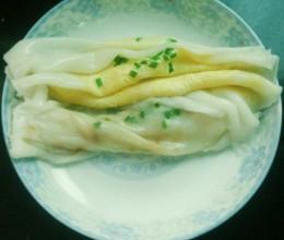 广式蛋肉拉肠(肠粉)