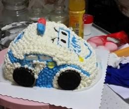帅气的HAPPY汽车蛋糕