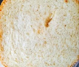 中筋粉面包也香软好吃(普通面粉)