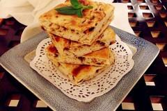 虾籽酱洋葱饼(发面饼)