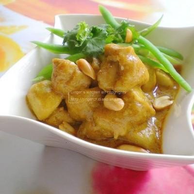 泰式咖喱芋艿鸡