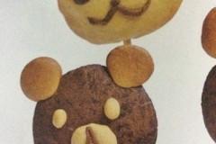 可爱小熊饼干