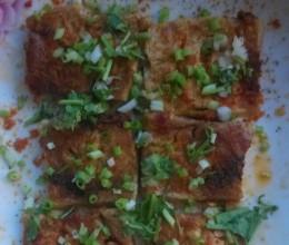 微波炉烤豆腐