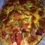 必胜客培根马苏里拉芝士披萨