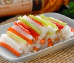 用玻璃瓶做四川泡菜