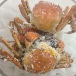 盐焗花雕蟹