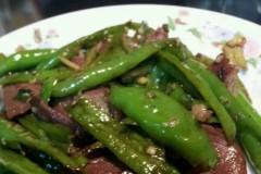 青椒火腿肉