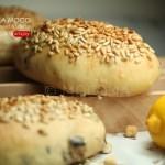 天然酵母蓝莓葵花籽面包