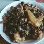 田螺焖鸡(电饭锅版)