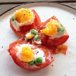 番茄鸡蛋杯(早餐鸡蛋杯升级版,彩椒鸡蛋杯姊妹篇)
