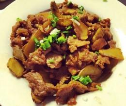 老姜炒肉(湘菜)