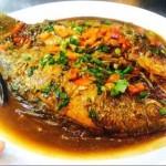 红烧海鲫鱼