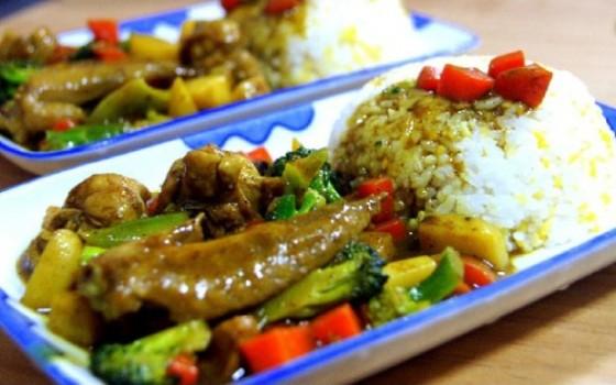 咖喱鸡翅饭(七岁儿童版)