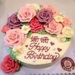 裱花蛋糕奶油霜