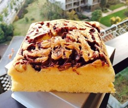 蓝莓芝士蛋糕:( 无油:)