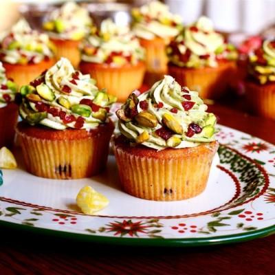 【圣诞色彩】开心节日樱桃小蛋糕