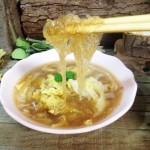 酸辣白菜粉丝汤