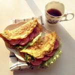 腐乳鸡蛋摊飞饼(快手,有滋有味早餐)